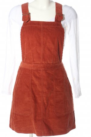 BDG Pinafore Overall Skirt red casual look