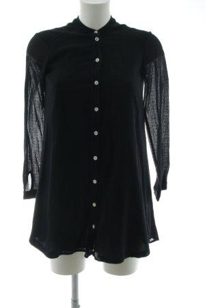 BDG Long-Bluse schwarz Elegant