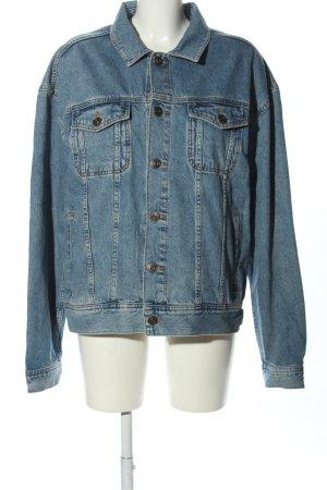 BDG Oversized Jacke blau Casual-Look