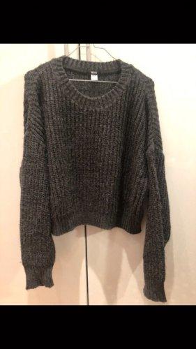 BDG Sweter z grubej dzianiny szary