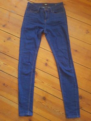 BDG - Skinny Jeans/ Röhren-Jeans, dunkelblau, Gr. xs, 25/ 30