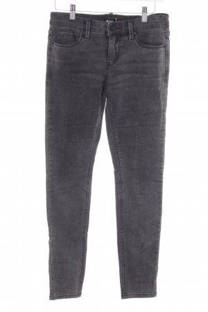 BDG Slim Jeans dunkelgrau Street-Fashion-Look