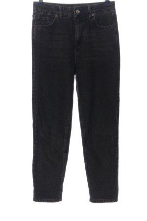 BDG Straight-Leg Jeans schwarz Casual-Look