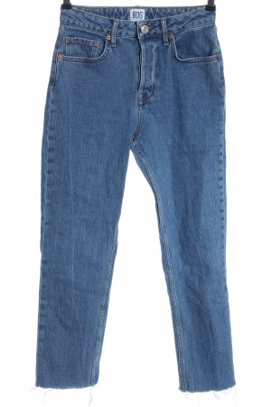 BDG Jeans a gamba dritta blu stile casual
