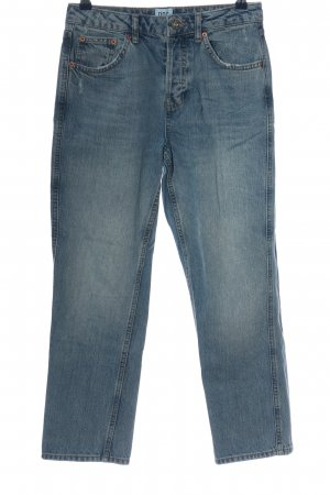 BDG Straight-Leg Jeans blau Casual-Look