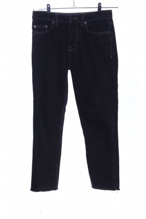 BDG Straight Leg Jeans black casual look