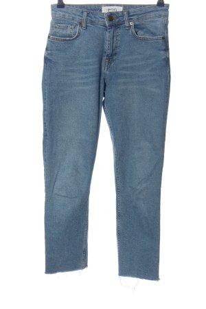 BDG Jeansy z prostymi nogawkami niebieski W stylu casual