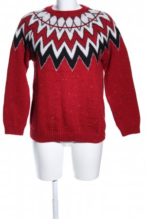BDG Knitted Sweater abstract pattern casual look