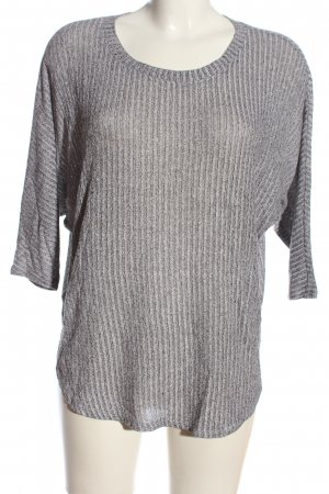 BDG Knitted Jumper light grey flecked casual look