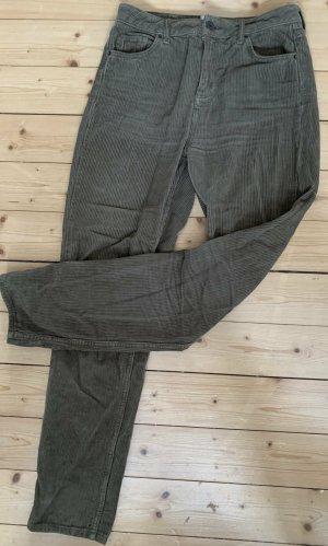BDG Corduroy broek grijs-bruin