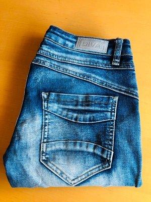 Be a Diva Jeans Gr 34 stretch /Skinny