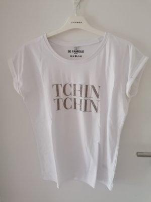 Be Famous T-shirt weiß Gr. XS neu