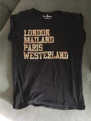 be famous T-shirt czarny Bawełna