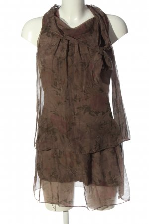 Be Inn Mini-jurk volledige print elegant