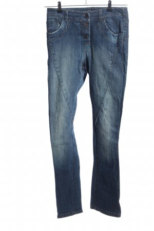 Be Inn Tube jeans blauw casual uitstraling