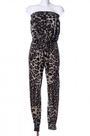 Be Lounged Jumpsuit Animalmuster Casual-Look