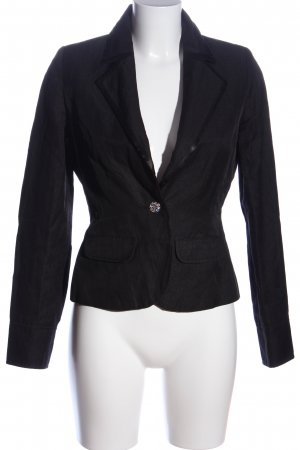 Be Lounged Korte blazer zwart zakelijke stijl
