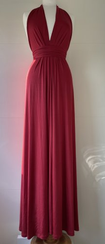 Be Lounged Maxi Dress raspberry-red-red polyester