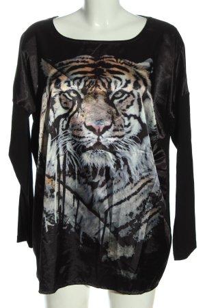 Be Lounged Shirt met print prints met een thema casual uitstraling