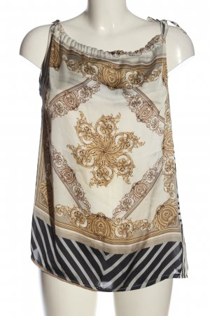 Be Lounged Strappy Top allover print casual look