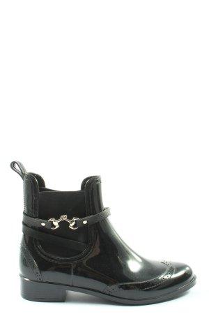 Be only Wellington laarzen zwart casual uitstraling