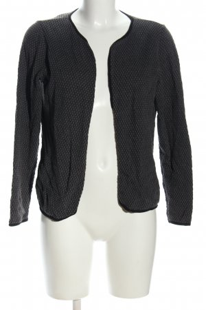 Be only Cardigan light grey-black allover print casual look