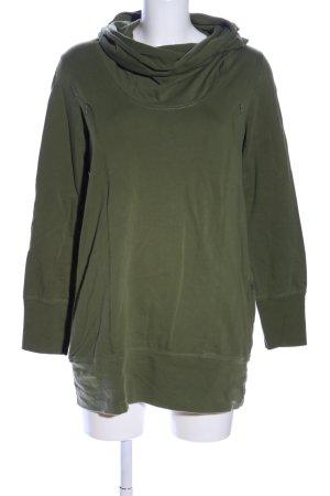 Sweat Shirt khaki casual look