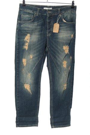 Be Tween Jeans boyfriend blu stile casual