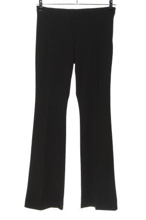 Be Tween Spodnie ze stretchu czarny W stylu casual