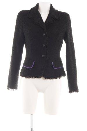Bea Tricia Krótka kurtka czarny W stylu casual