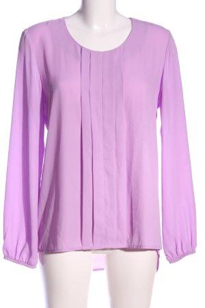 Bea Tricia Blouse à manches longues violet style décontracté