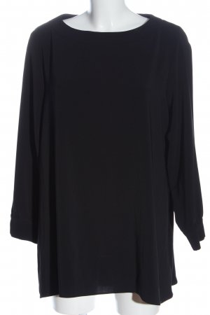 Bea Tricia Sukienka z długim rękawem czarny W stylu casual