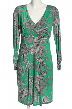 Bea Tricia Longsleeve Dress abstract pattern casual look
