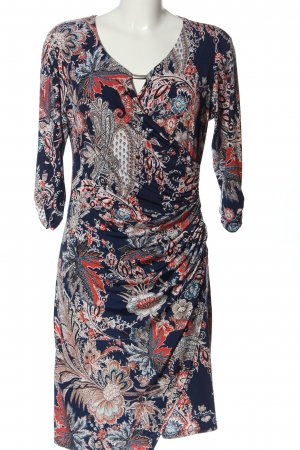 Bea Tricia Longsleeve Dress allover print casual look