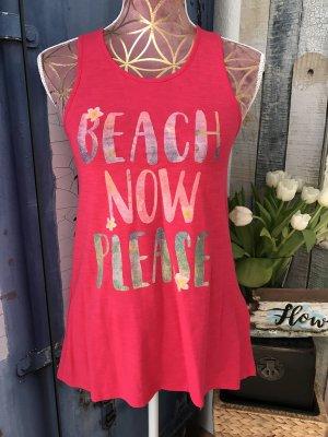 Beach now please TrägerShirt von Benetton
