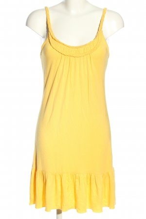 Beach Time Jerseykleid blassgelb Casual-Look