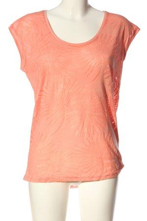 Beach Time Camicia maglia arancione chiaro stile casual