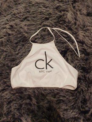 Calvin Klein Capo da spiaggia bianco-nero