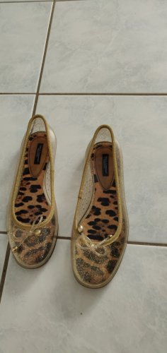 Dolce & Gabbana Sandalo infradito oro
