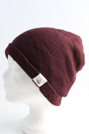 Bonnet brun style décontracté