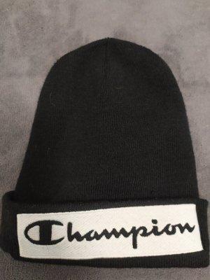 Champion Beanie wit-zwart