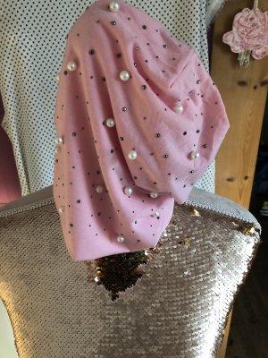 Berretto rosa chiaro