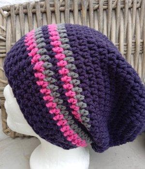 Handmade Bonnet violet
