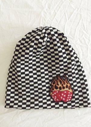 Bonnet multicolore tissu mixte