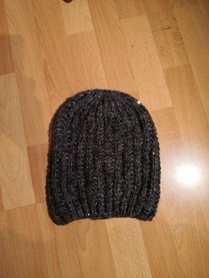 H&M Bonnet gris anthracite