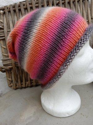 Handarbeit Sombrero de punto albaricoque