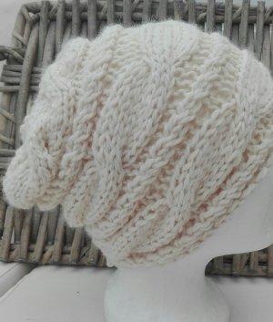 Handmade Knitted Hat grey