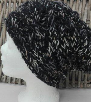 Handmade Knitted Hat black