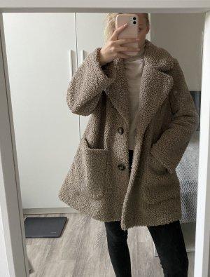 Zara Fleece Jackets multicolored