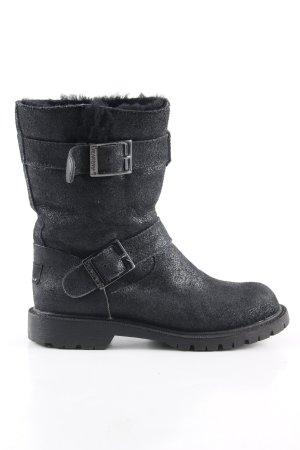 Bearpaw Korte laarzen zwart casual uitstraling